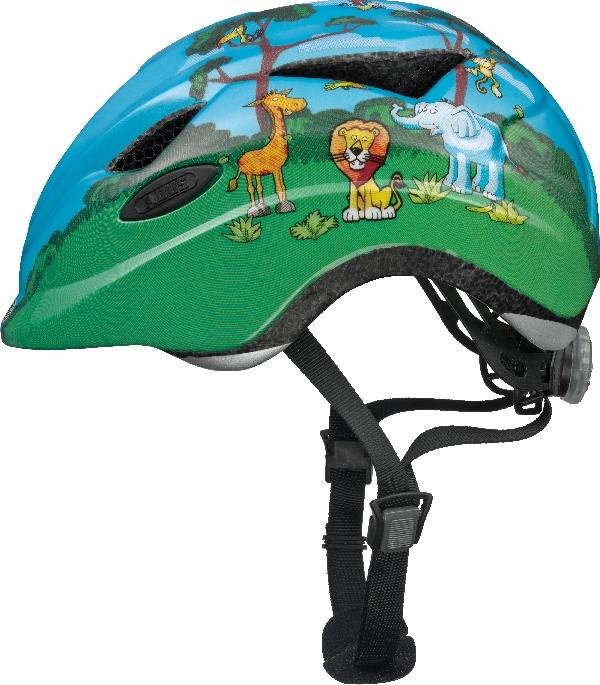 Cykelhjelm Abus Anuky - Jungle Mærker