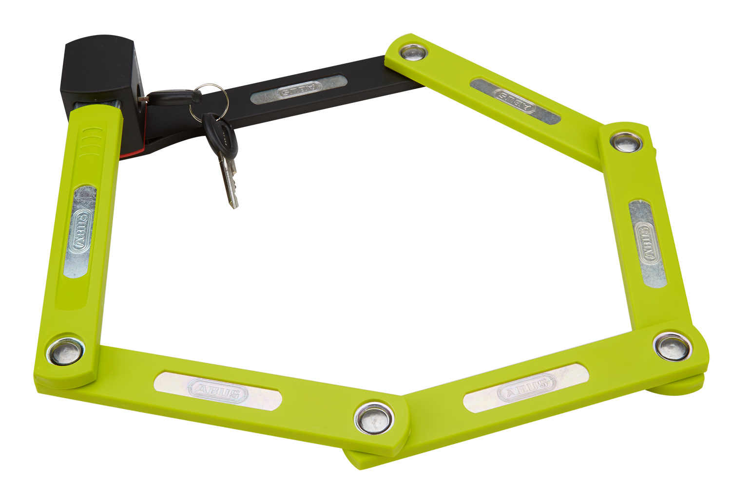 Image of   Abus Foldelås 5700 Bordo uGrip, Lime