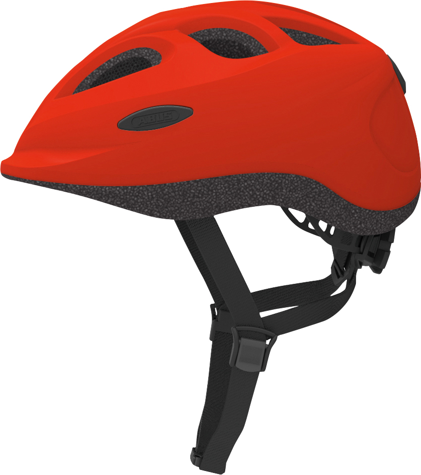 Image of   Abus Smiley, red (50-55cm)