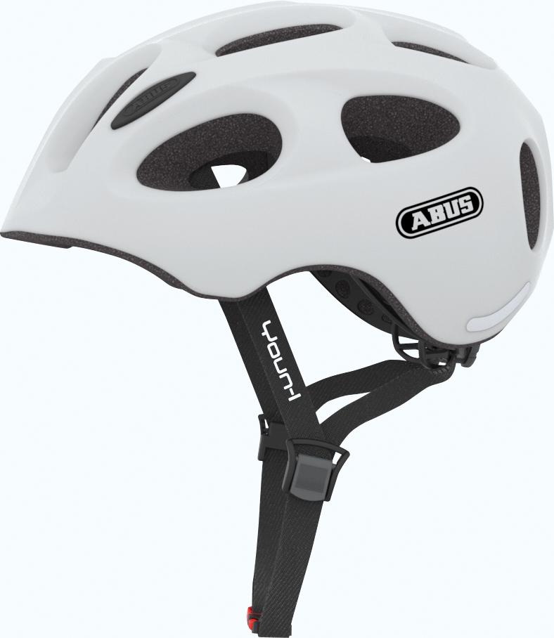 Cykelhjelm Abus Youn-I - Polar Matt Cykelhjelme||Abus