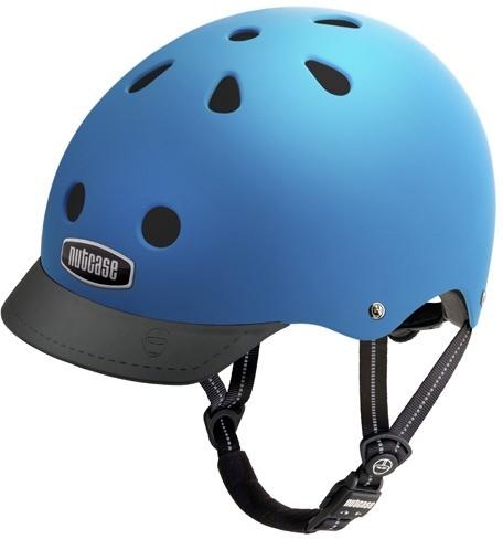 Image of Cykelhjelm Nutcase GEN3 Super Solids Atlantic Blue