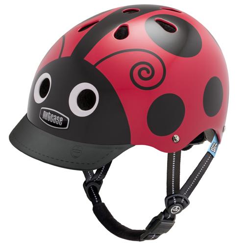 Pedalatleten Cykelhjelm Nutcase Little Nutty Gen3, Ladybug 48-52Cm (Xs) Mærker