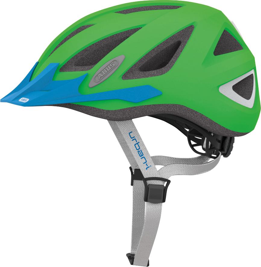 Pedalatleten Cykelhjelm Abus Urban-I 2.0 - Neon Green Mærker