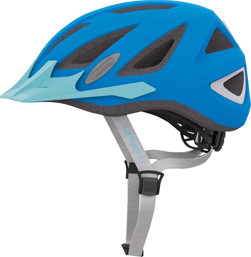 Pedalatleten Cykelhjelm Abus Urban-I 2.0 - Neon Blue Mærker
