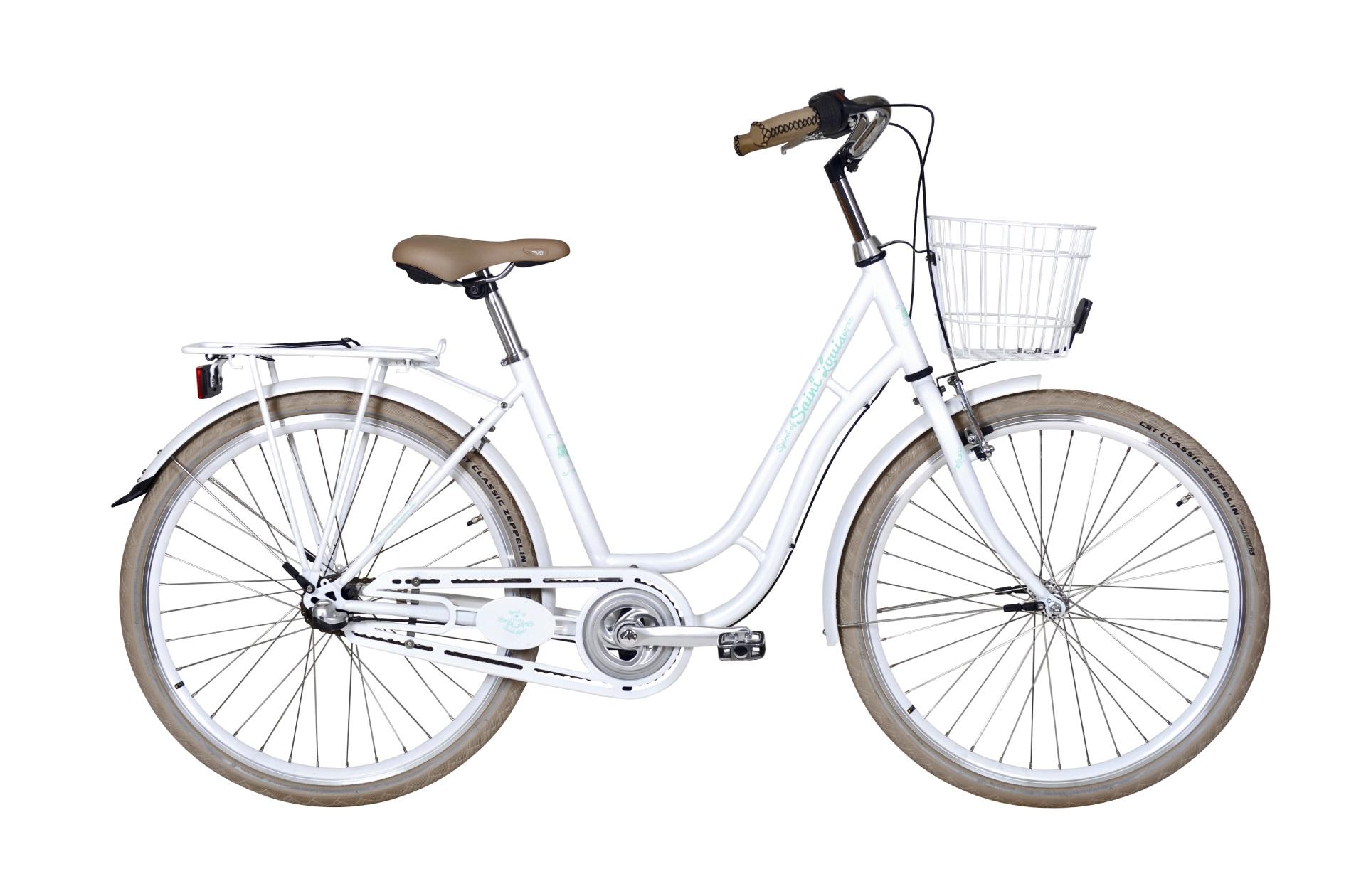 "Ebsen Spirit Of St. Louis 26"" Pige Hvid 3 Gear - 2019 Cykler"