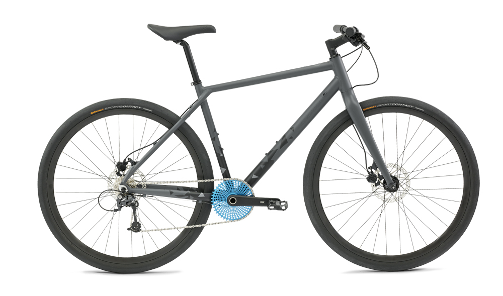 Cultima Ink 9 Speed Shimano Deore Sort 55Cm - 2018