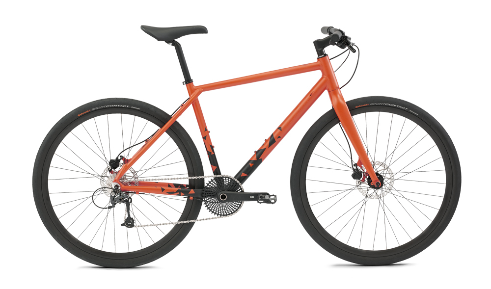 Image of Cultima INK 9 Speed Shimano Deore Orange 55cm - 2018