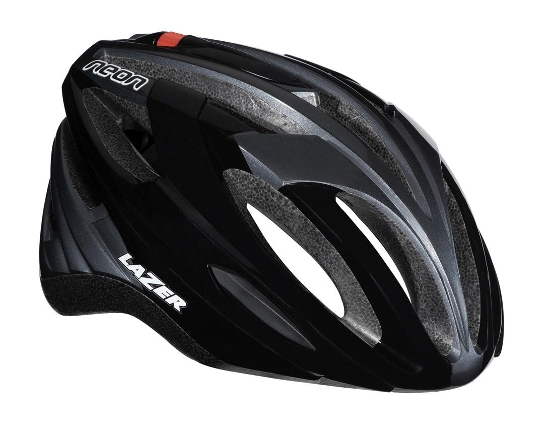 Cykelhjelm Lazer Neon Black Grey 62-65cm