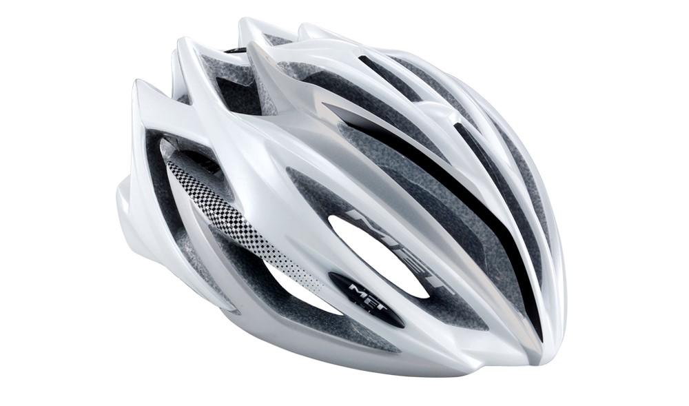 MET Estro Hvid/Sølv