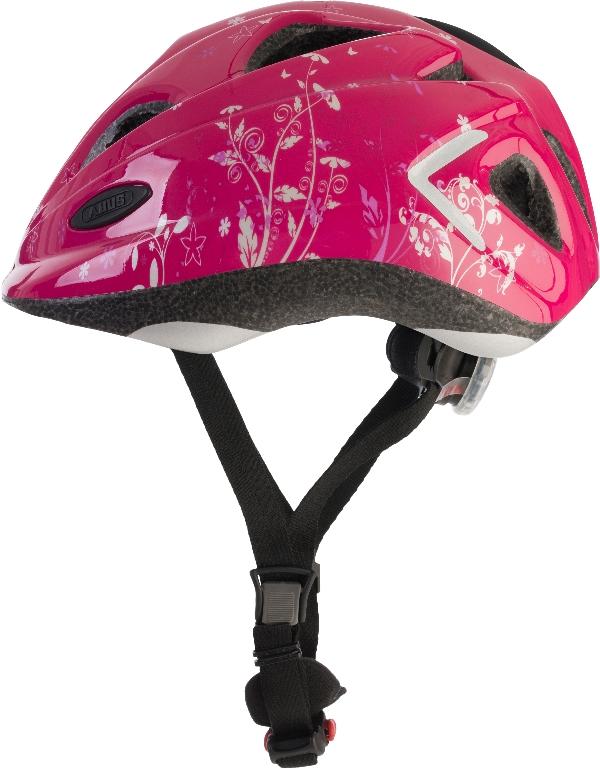 Cykelhjelm Abus Super Chilly - Garden Pink
