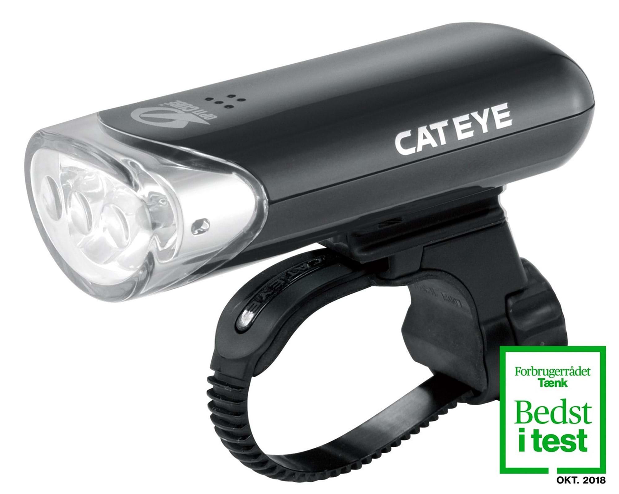 Image of Forlygte Cateye HL-EL135N Sort 3 LED 150+ Candela