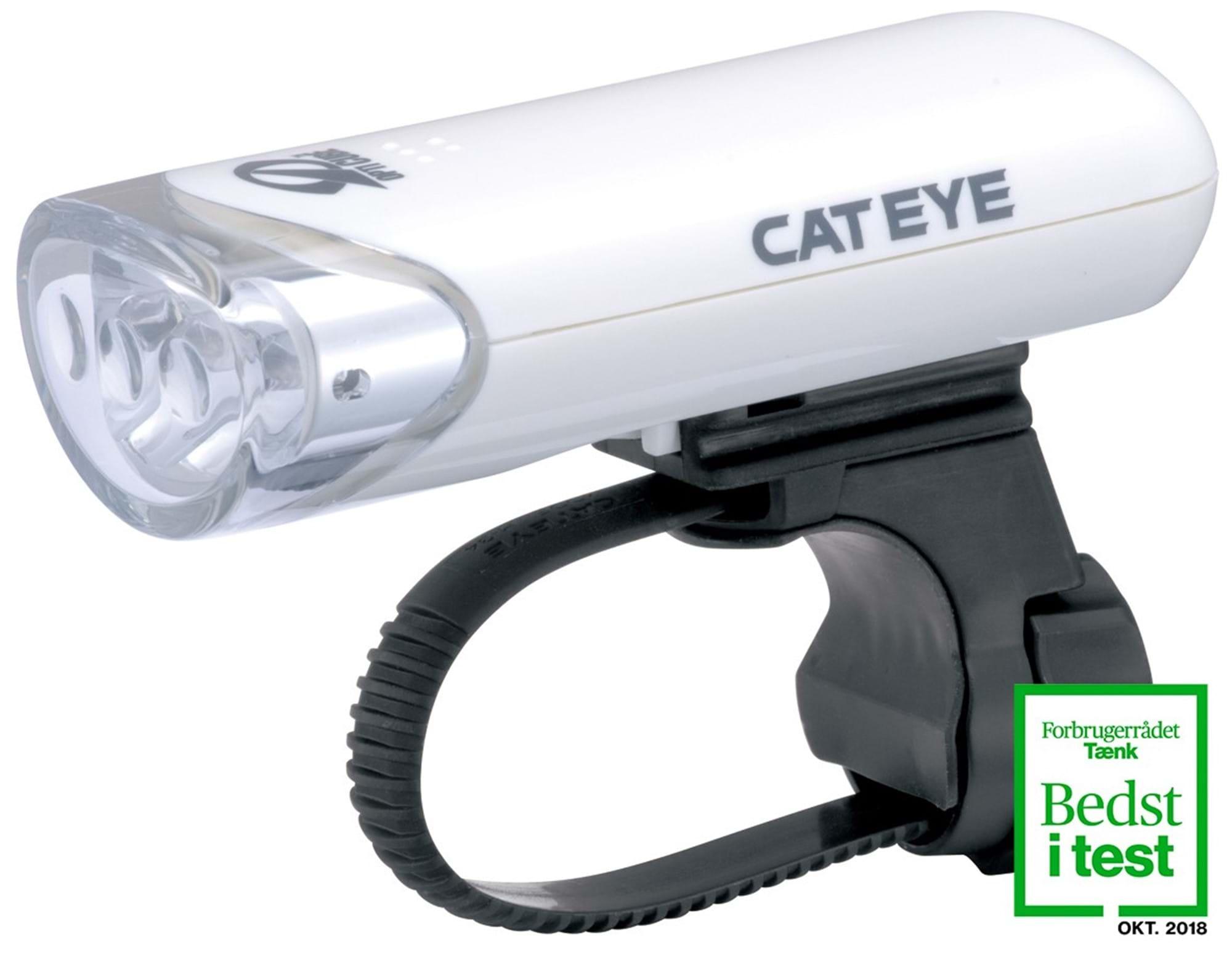 Image of Forlygte Cateye HL-EL135N Hvid 3 LED 150+ Candela