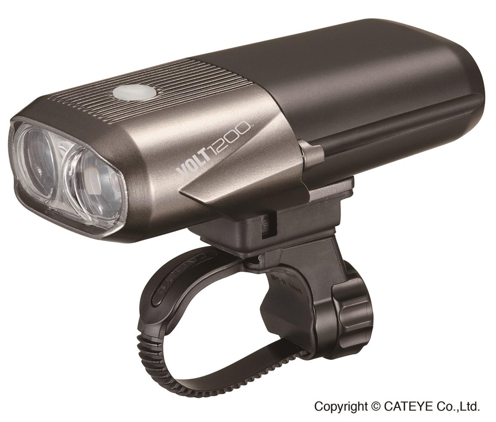 Image of Forlygte Cateye VOLT1200 HL-EL1000RC USB Genopladelig - 1200 Lumens