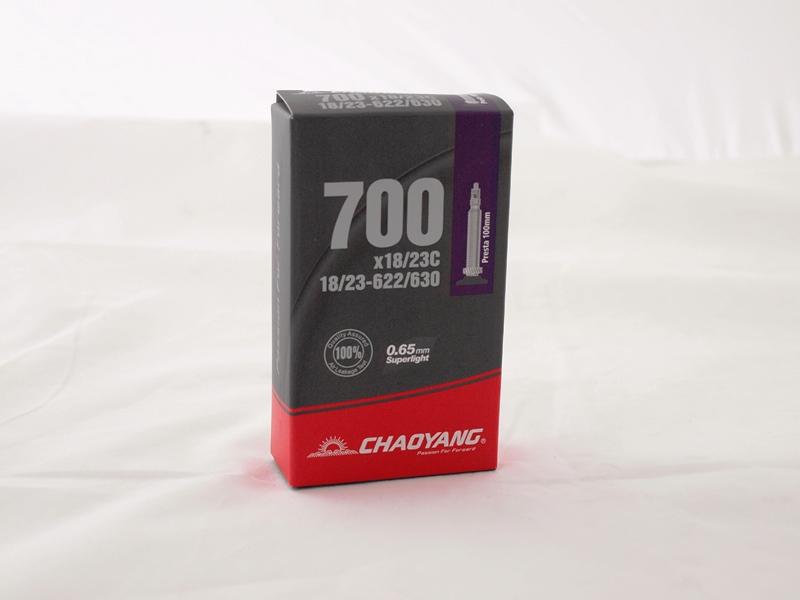 Image of Chaoyang Slange Light 700x18/23C Presta 100mm