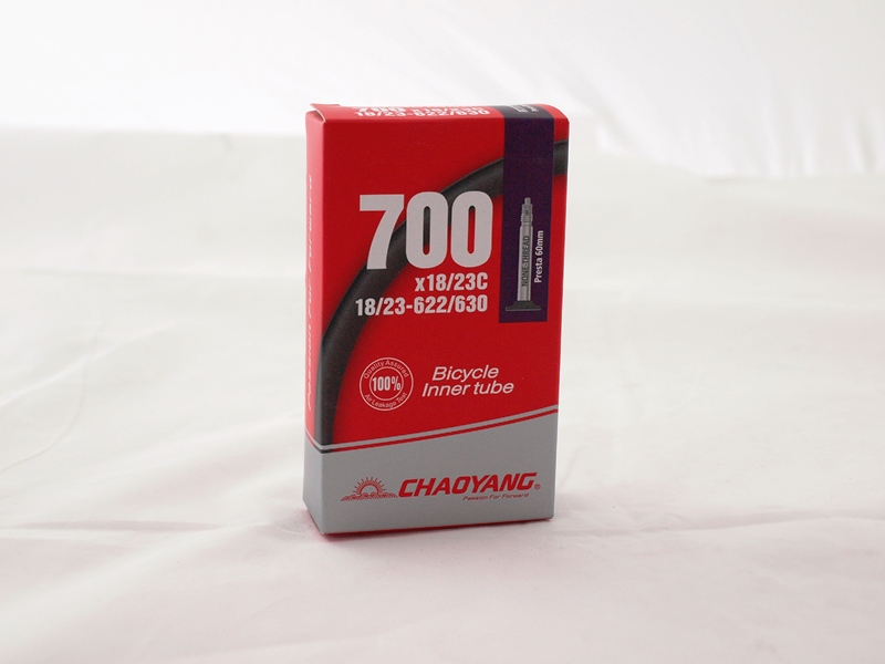 Image of Chaoyang Slange 700x18/23C Presta 60mm