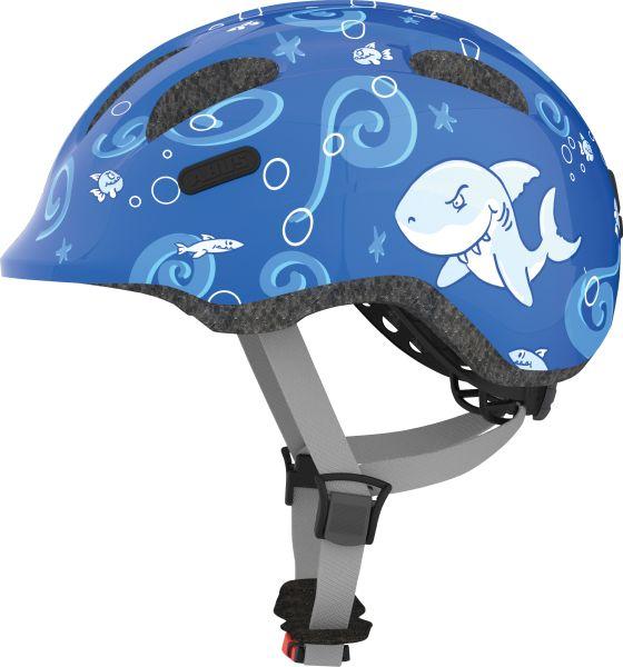 Image of Cykelhjelm Abus Smiley 2.0 - Blue Sharky
