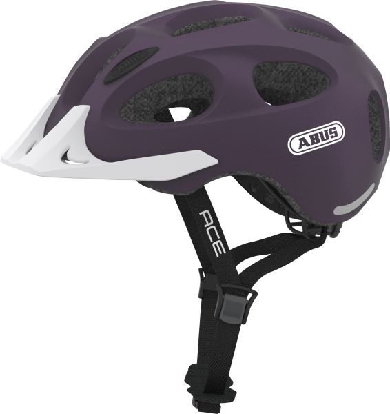 Cykelhjelm Abus Youn-I Ace - Aubergine (52-57Cm)