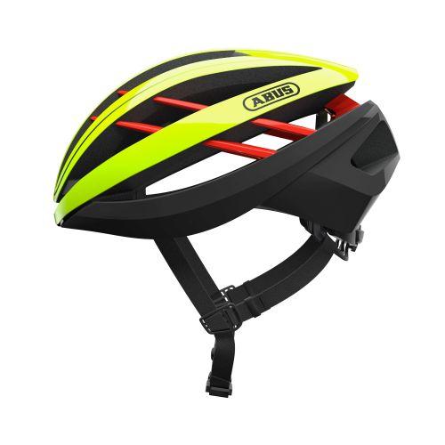 Cykelhjelm Abus Aventor - Neon Yellow Cykelhjelme