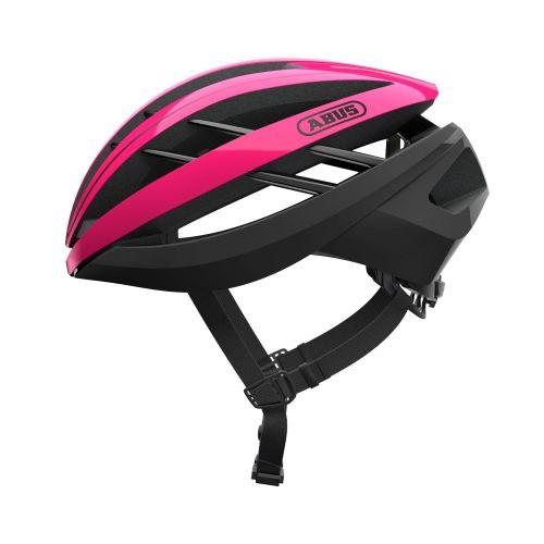 Image of Cykelhjelm Abus Aventor - Fuchsia Pink