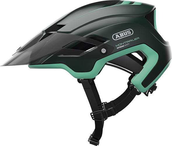 Image of Cykelhjelm Abus Montrailer - Smaragd Green