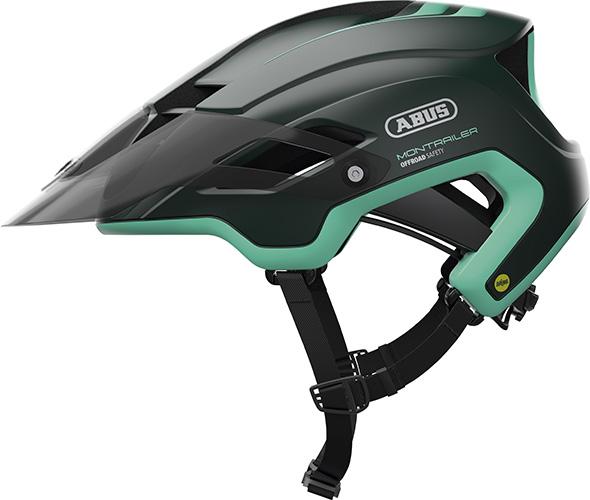 Image of Cykelhjelm Abus Montrailer Mips - Smaragd Green