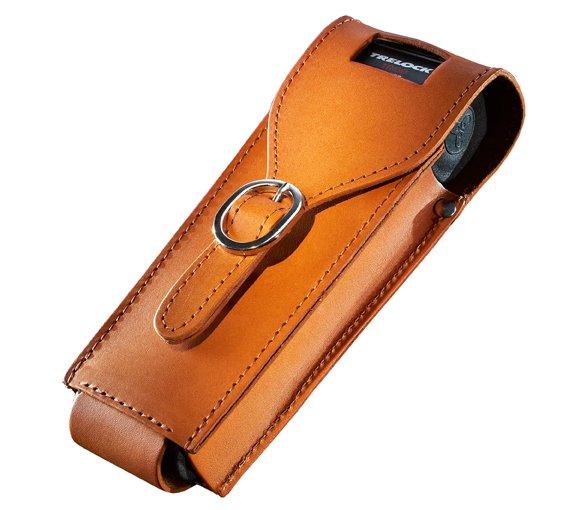 Pedalatleten Trelock Foldelås Fs300 Manufaktur Inkl. Lædertaske Mærker