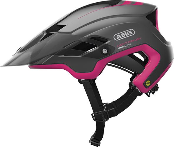 Cykelhjelm Abus Montrailer Mips - Fuchsia Pink, M (55-58Cm)
