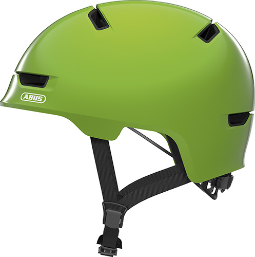Image of Cykelhjelm Abus Scraper Kid 3.0 - Shiny Green