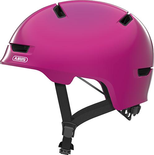 Cykelhjelm Abus Scraper Kid 3.0 - Shiny Pink