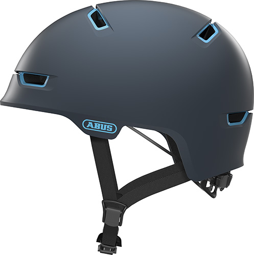 Cykelhjelm Abus Scraper 3.0 Ace - Concrete Grey Cykelhjelme||Skate, Urban Og City||Junior Hjelme