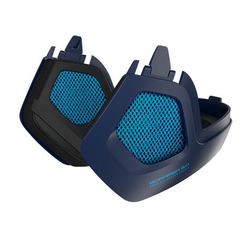 Pedalatleten Vinterkit (Ørevarmere) Til Abus Scraper 3.0 - Ultra Blue Cykelhjelme||Tilbehør Til Cykelhjelme||Ørevarmere
