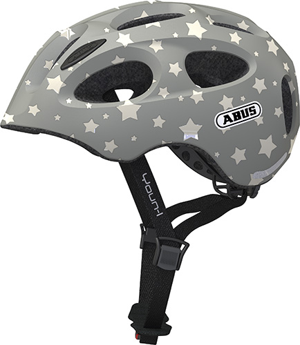 Cykelhjelm Abus Youn-I - Grey Star Mærker