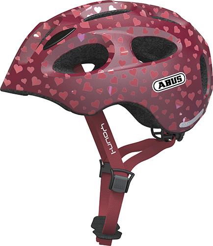 Pedalatleten Cykelhjelm Abus Youn-I - Cherry Heart Mærker