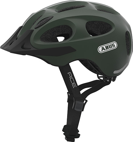 Image of Cykelhjelm Abus Youn-I Ace - Metallic Green