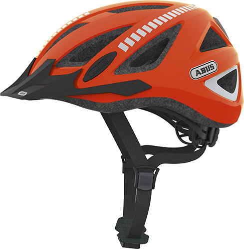 Image of Cykelhjelm Abus Urban-I Signal 2.0 - Orange