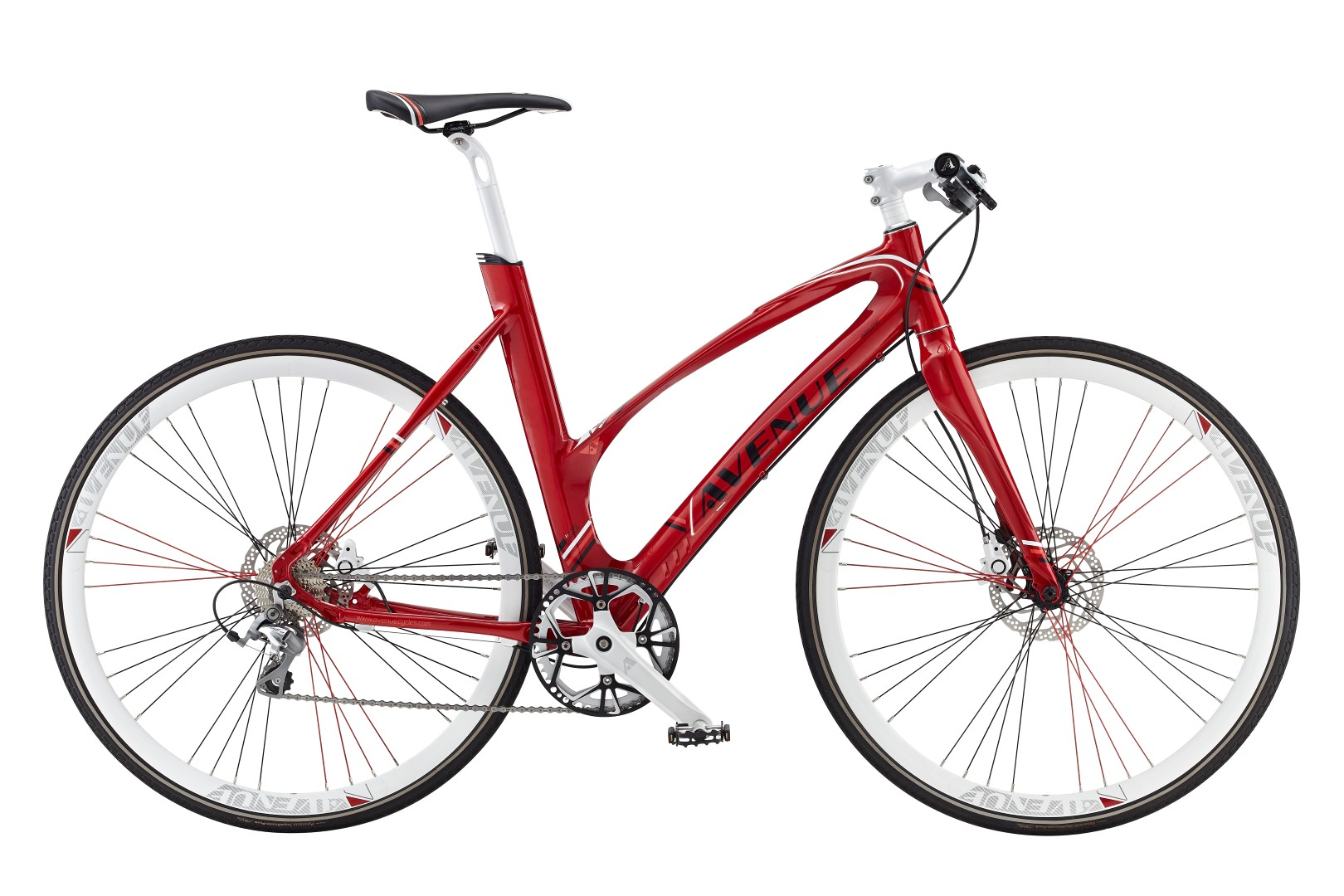Avenue Airbase 10sp Tiagra Hydraulic Disc, Glam Red 2016