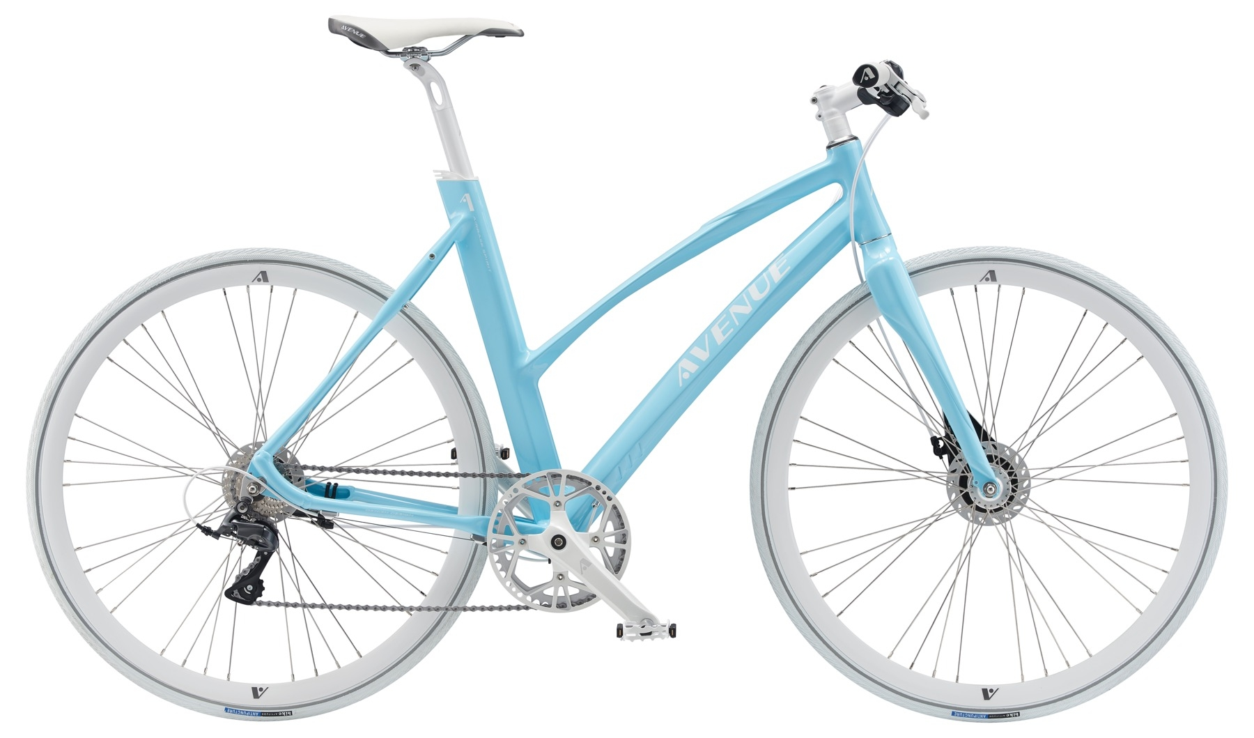Image of Avenue Airbase Spirit Dame 8 Gear Rullebremse Light Blue - 2019