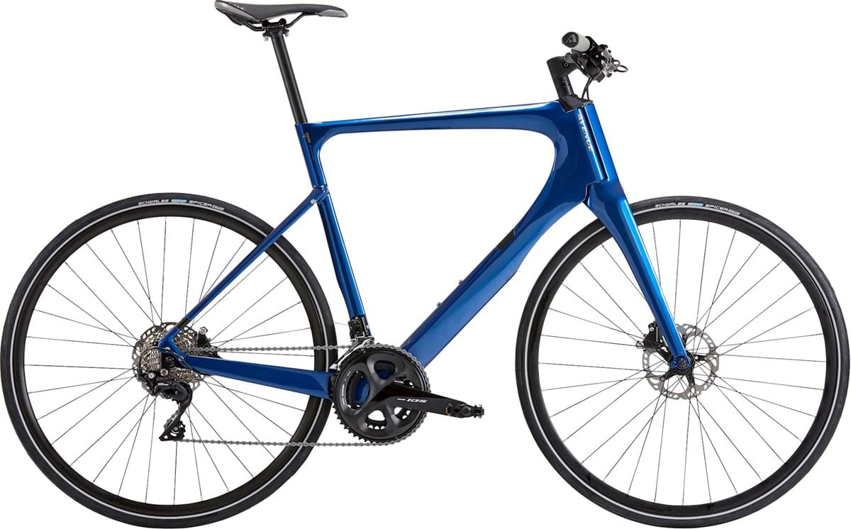 Avenue Empire Carbon Herre Shimano 105 - Shiny Dark Blue 2020