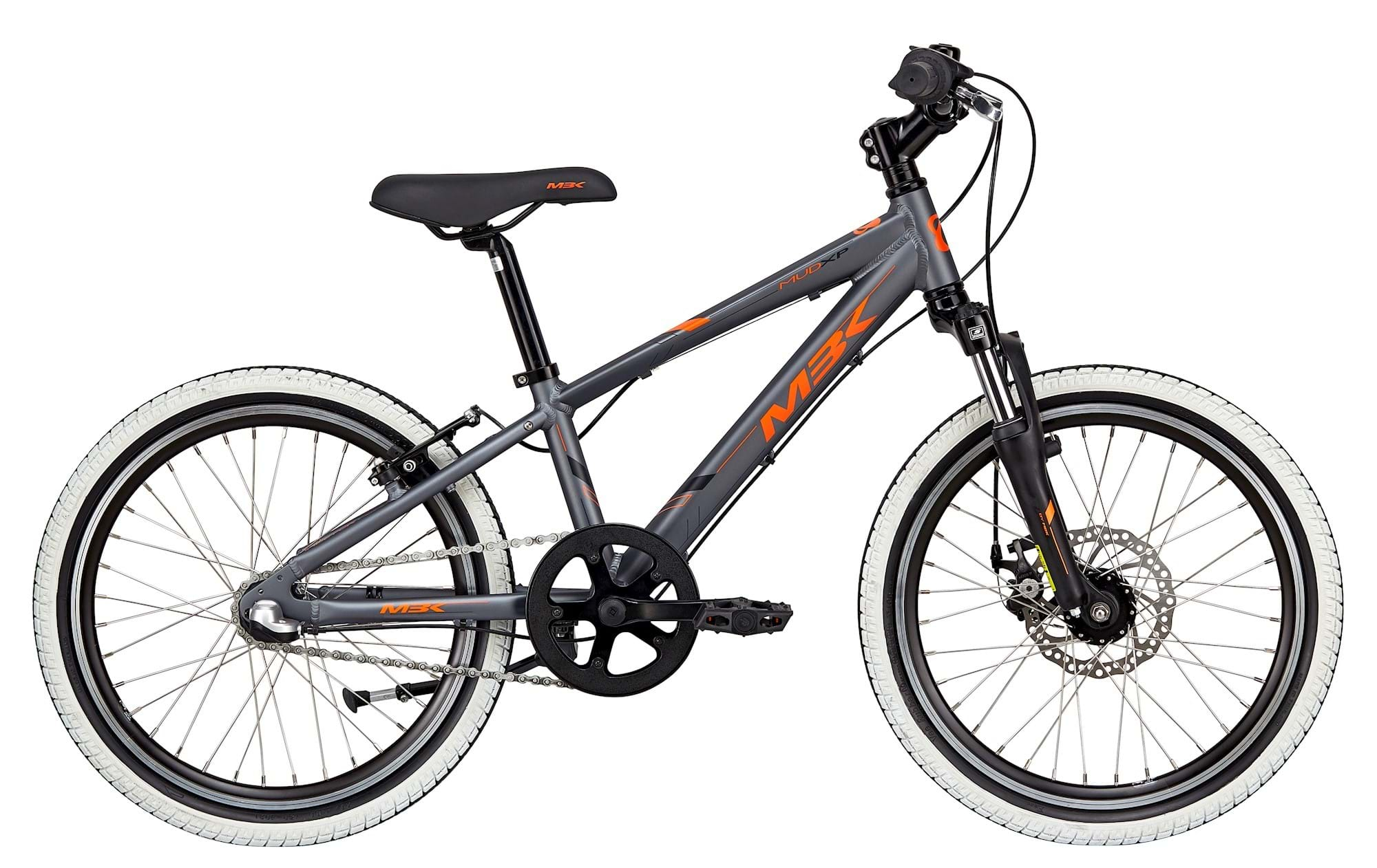 "MBK MUD XP Susp. Dreng Nexus 3 Gear Fodbremse 20"" Mat Grå/Orange"