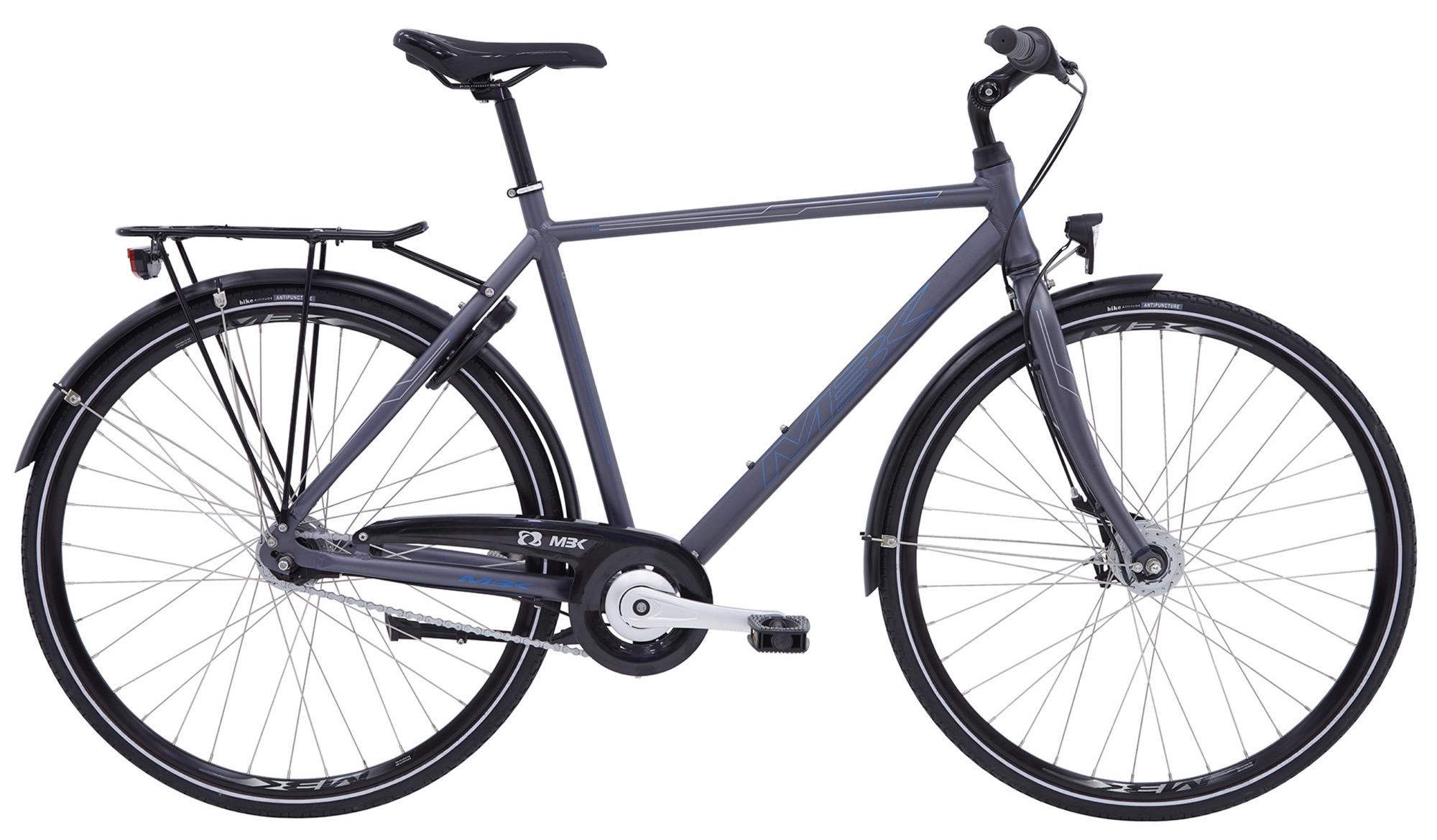 Pedalatleten Mbk Smogbuster 2 Herre 7 Gear Mat Gråblå - 2020 Cykler||Mbk Cykler