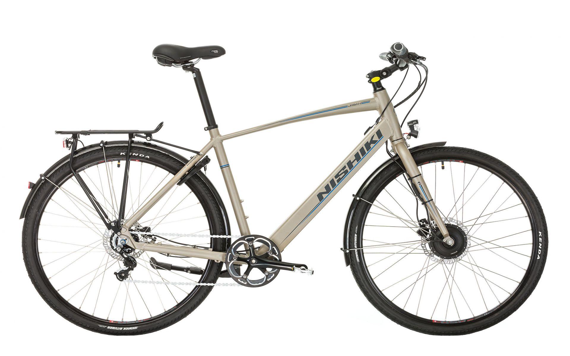 Nishiki Urban Herre Elcykel 7 Gear Mat Grå - 2018 Cykler||Nishiki Cykler||Nishiki Elcykler