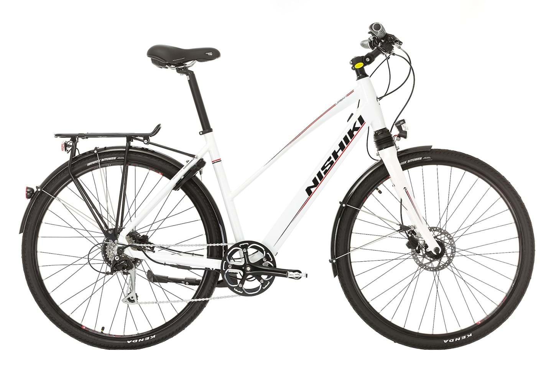 Nishiki Urban Dame Elcykel 9 Gear - Hvid 2018