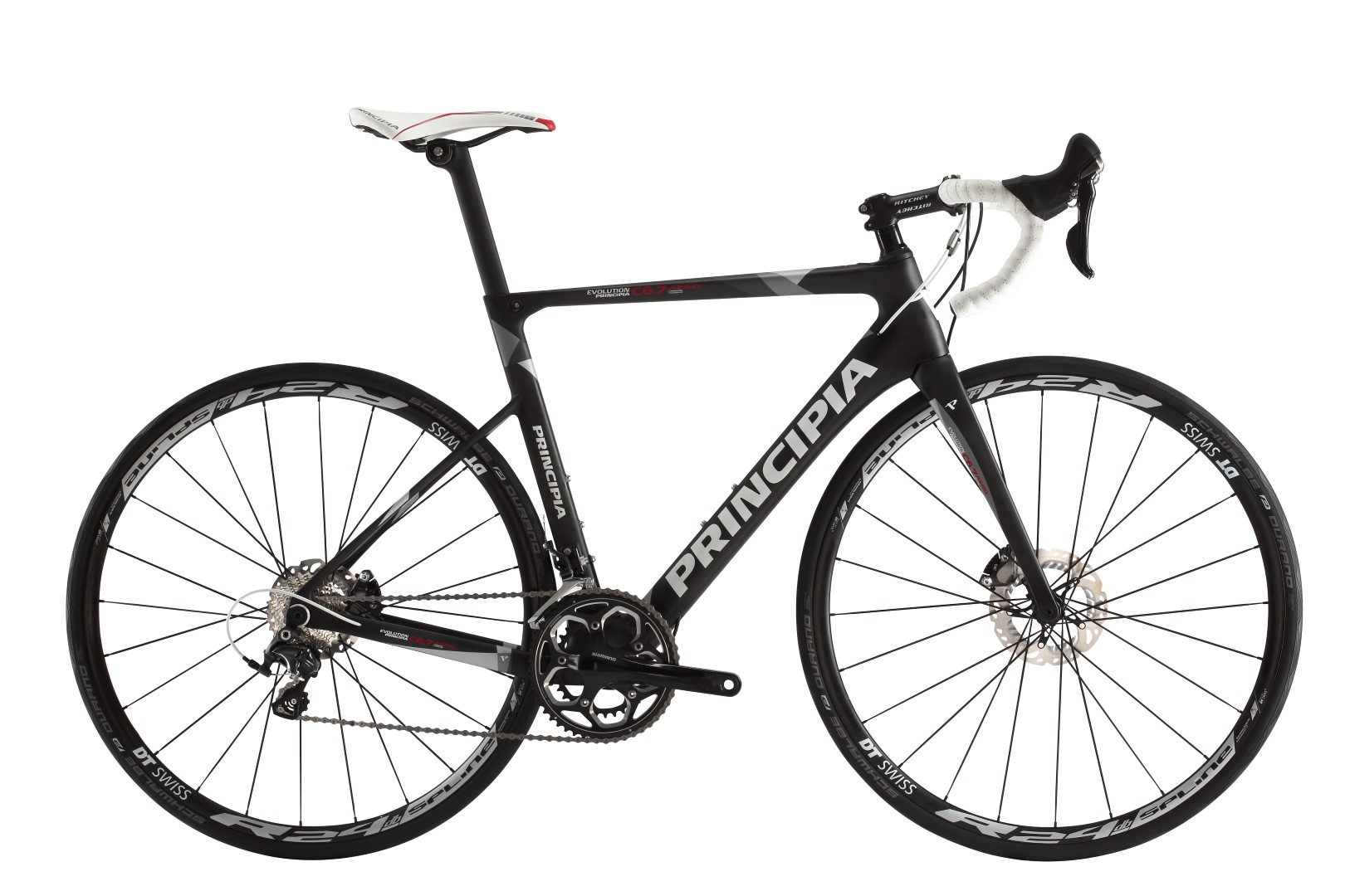 Principia Evolution C6.7 Aero 22Sp Shimano Ultegra Carbon Sort, 2017