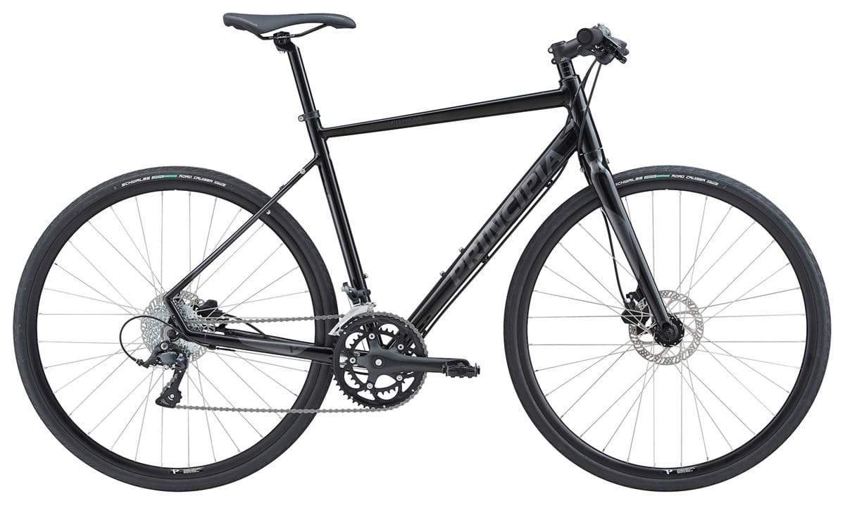 Pedalatleten Principia Fitness 2X9Sp Sora Hydr. Skivebremser Sort 61Cm - 2019 Cykler||Principia