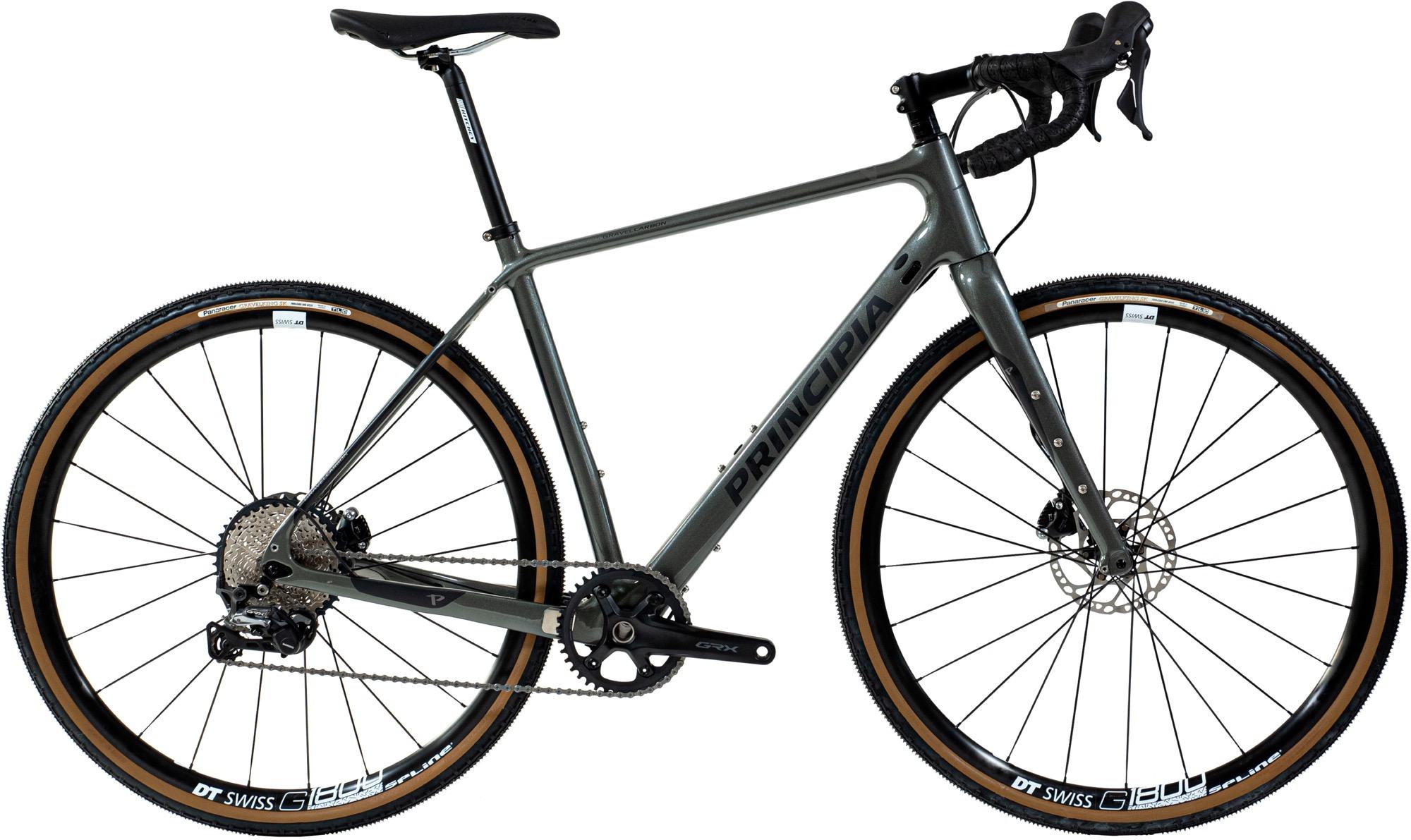 Køb Principia Gravel Carbon Shimano GRX RX812 1x11sp Titanium – 2020