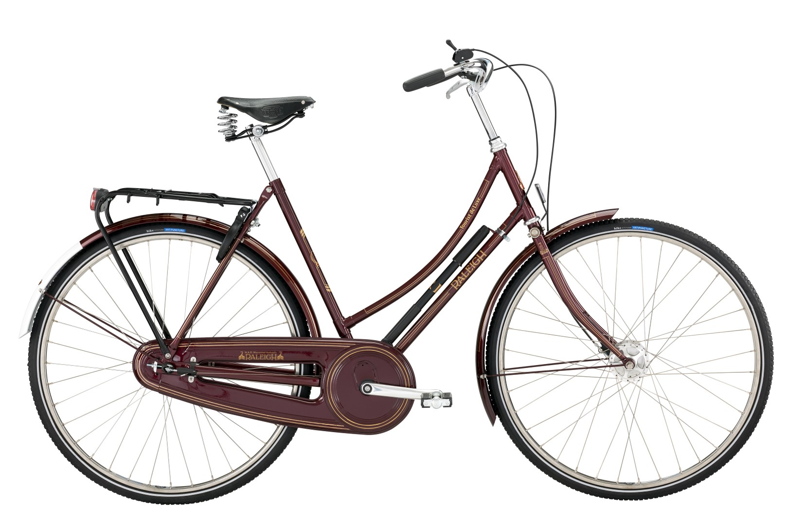 Raleigh Tourist de Luxe Lady 20in Sram 3g Metallic Bordeaux