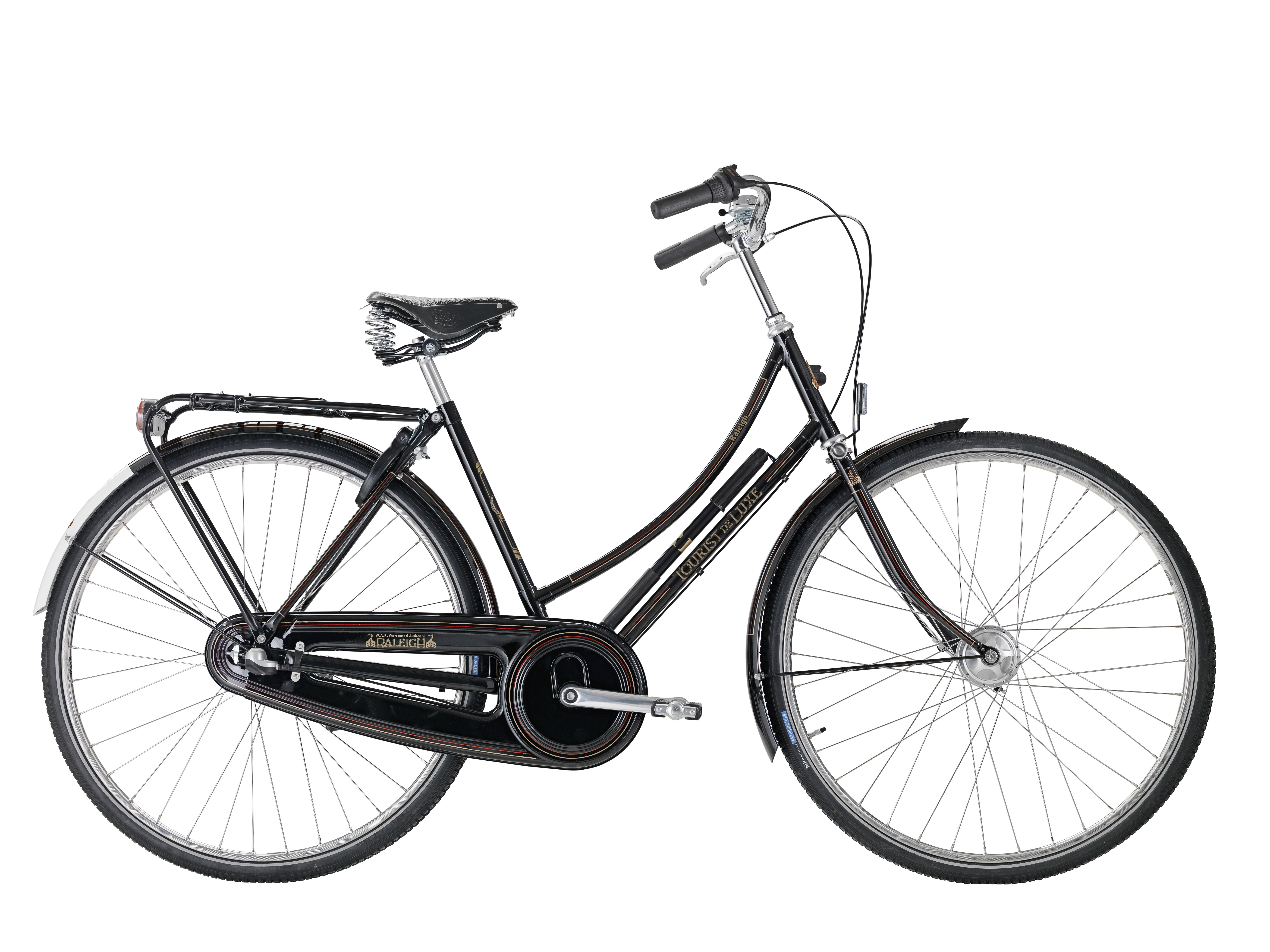 Image of Raleigh Tourist de Luxe Dame Sort 7 Gear - 2020
