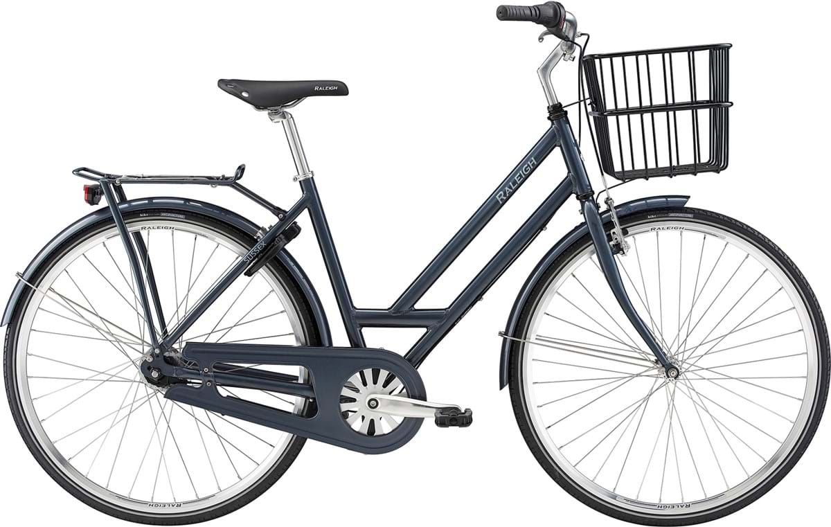 Image of Raleigh Sussex Dame 7 Gear Fodbremse Blank Grå - 2019