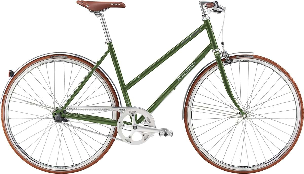 Image of Raleigh Kent Dame 3 Gear Fodbremse Blank Grøn - 2019