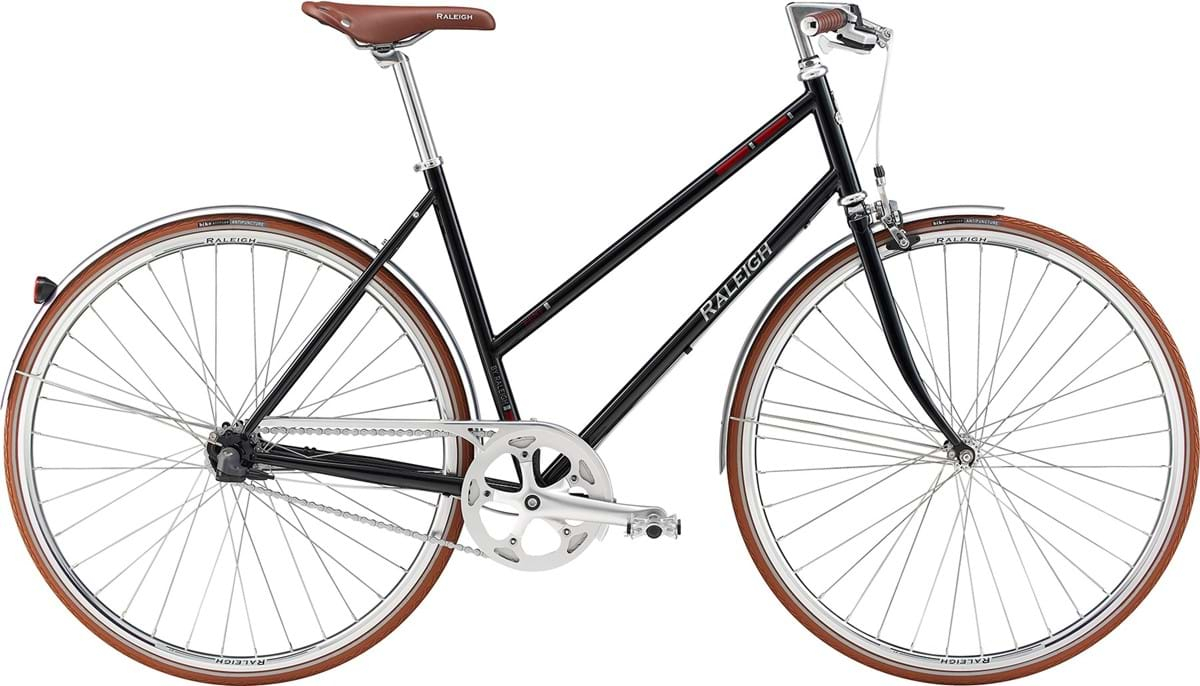 Image of Raleigh Kent Dame 3 Gear Fodbremse Blank Sort - 2019